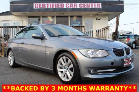 2011 BMW 3 Series for sale at CERTIFIED CAR CENTER in Fairfax VA