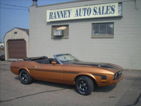 1973 Ford Mustang for sale at Ranney's Auto Sales in Eau Claire WI