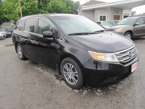 2012 Honda Odyssey for sale at St. Mary Auto Sales in Hilliard OH
