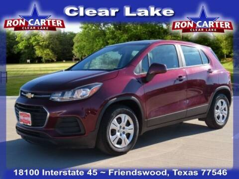 2017 Chevrolet Trax for sale at Ron Carter  Clear Lake Used Cars in Houston TX