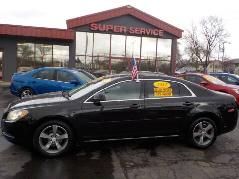 2011 Chevrolet Malibu for sale at Super Service Used Cars in Milwaukee WI
