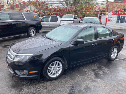 2010 Ford Fusion for sale at RON'S AUTO SALES INC in Cicero IL