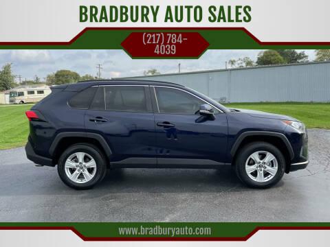 2020 Toyota RAV4 for sale at BRADBURY AUTO SALES in Gibson City IL