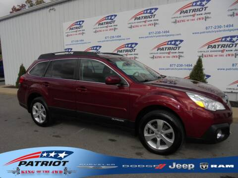 2013 Subaru Outback for sale at PATRIOT CHRYSLER DODGE JEEP RAM in Oakland MD
