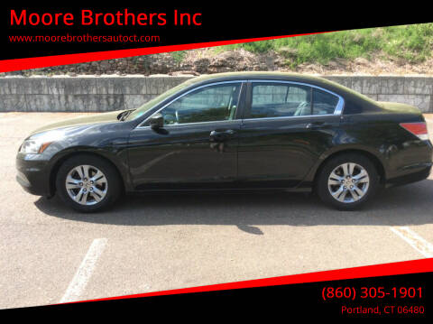 2012 Honda Accord for sale at Moore Brothers Inc in Portland CT