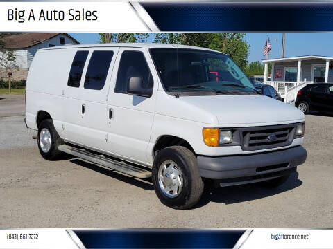 2007 Ford E-Series Cargo for sale at Big A Auto Sales Lot 2 in Florence SC
