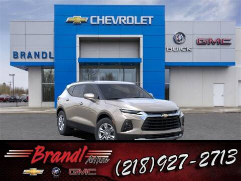 2021 Chevrolet Blazer for sale at Brandl GM in Aitkin MN