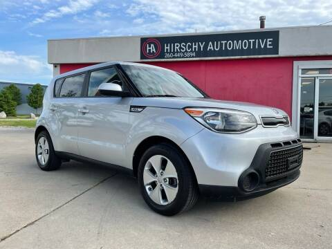 2016 Kia Soul for sale at Hirschy Automotive in Fort Wayne IN