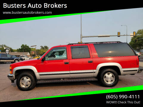 1997 Chevrolet Suburban for sale at Busters Auto Brokers in Mitchell SD