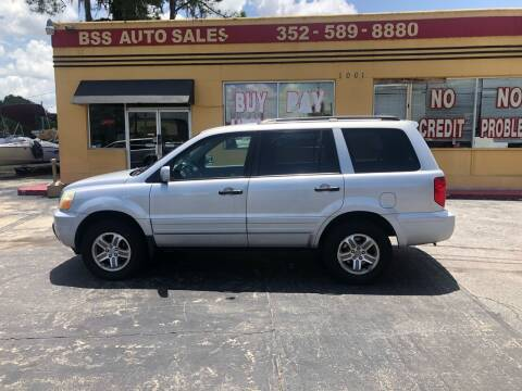 2003 Honda Pilot for sale at BSS AUTO SALES INC in Eustis FL
