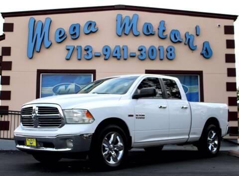 2013 Dodge Ram Pickup 1500 for sale at MEGA MOTORS in South Houston TX