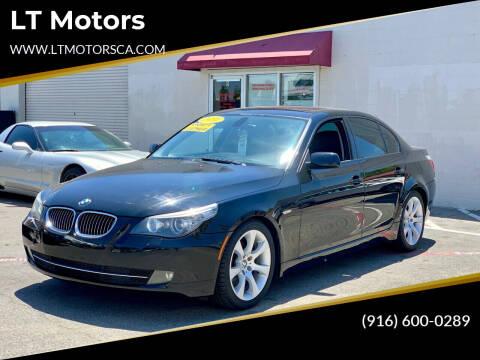 2010 BMW 5 Series for sale at LT Motors in Rancho Cordova CA