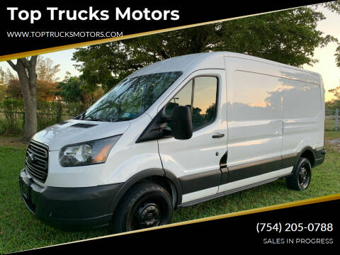 2016 Ford Transit Cargo for sale at Top Trucks Motors in Pompano Beach FL