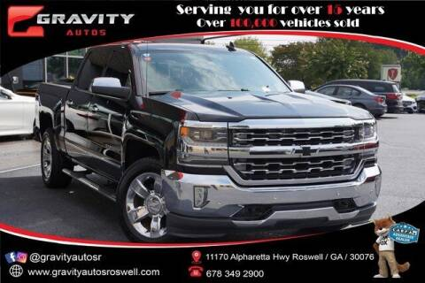2016 Chevrolet Silverado 1500 for sale at Gravity Autos Roswell in Roswell GA