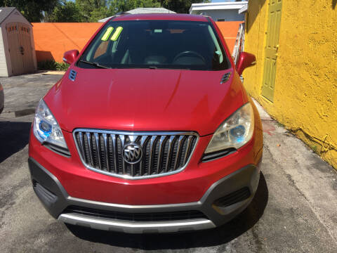 2011 Buick Encore for sale at Versalles Auto Sales in Hialeah FL