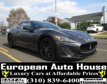 2012 Maserati GranTurismo for sale at European Auto House in Los Angeles CA