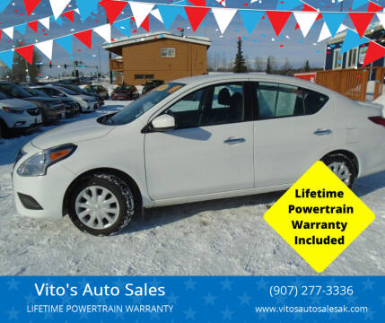 2018 Nissan Versa for sale at Vito's Auto Sales in Anchorage AK