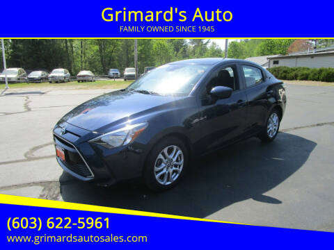 2017 Toyota Yaris iA for sale at Grimard's Auto in Hooksett NH