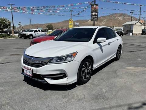 2017 Honda Accord for sale at Los Compadres Auto Sales in Riverside CA