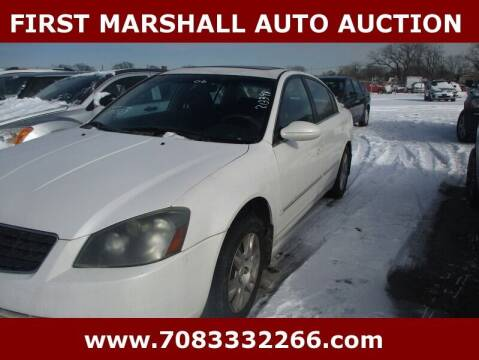 2006 Nissan Altima for sale at First Marshall Auto Auction in Harvey IL