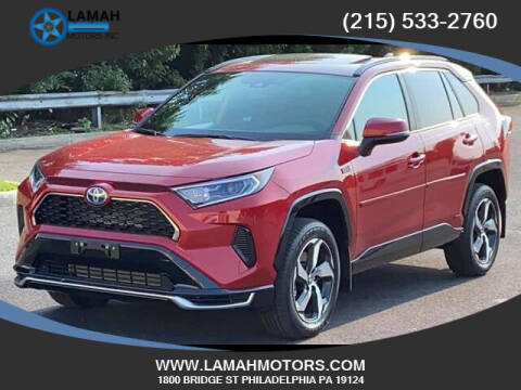 2021 Toyota RAV4 Prime for sale at LAMAH MOTORS INC in Philadelphia PA