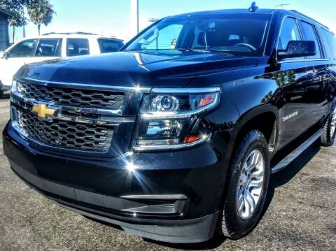 2017 Chevrolet Suburban for sale at Celebrity Auto Sales in Port Saint Lucie FL