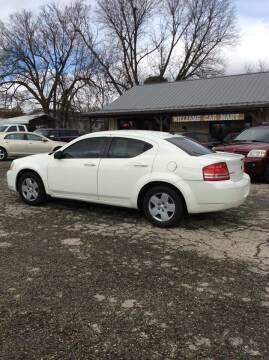 2010 Dodge Avenger for sale at WILLIAMS CAR MART in Gassville AR