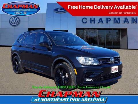 2019 Volkswagen Tiguan for sale at CHAPMAN FORD NORTHEAST PHILADELPHIA in Philadelphia PA
