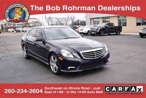 2011 Mercedes-Benz E-Class for sale at BOB ROHRMAN FORT WAYNE TOYOTA in Fort Wayne IN