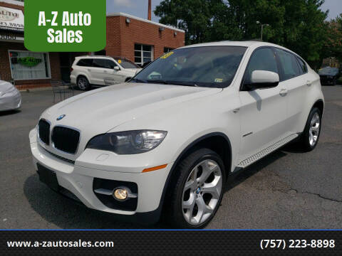 2009 BMW X6 for sale at A-Z Auto Sales in Newport News VA
