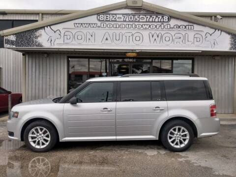 2015 Ford Flex for sale at Don Auto World in Houston TX
