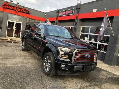 2017 Ford F-150 for sale at Goodfella's  Motor Company in Tacoma WA