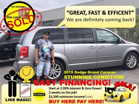 2015 Dodge Grand Caravan for sale at The Car Company in Las Vegas NV