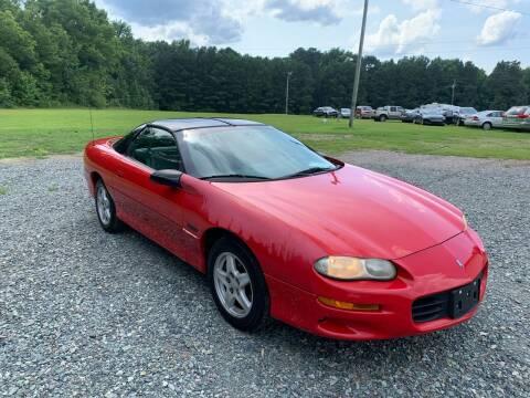 1999 Chevrolet Camaro for sale at Sanford Autopark in Sanford NC
