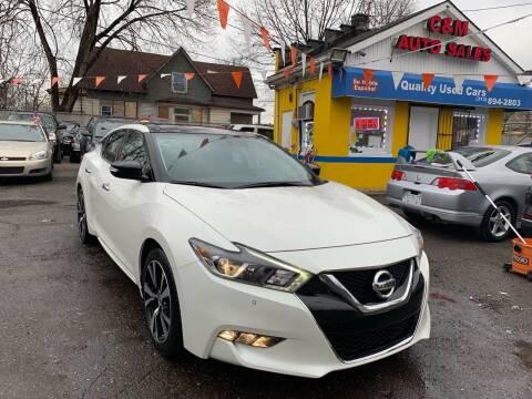 2018 Nissan Maxima for sale at C & M Auto Sales in Detroit MI