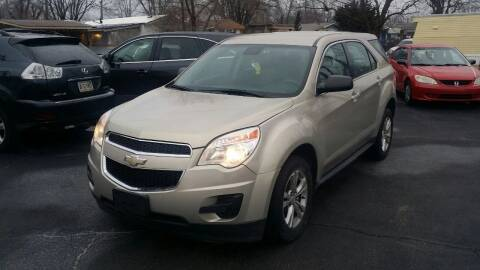 2012 Chevrolet Equinox for sale at Nonstop Motors in Indianapolis IN