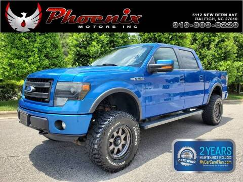2013 Ford F-150 for sale at Phoenix Motors Inc in Raleigh NC