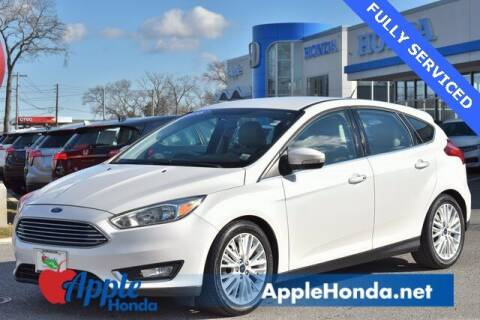 2016 Ford Focus for sale at APPLE HONDA in Riverhead NY