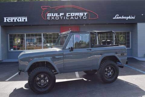 1973 Ford Bronco for sale at Gulf Coast Exotic Auto in Biloxi MS