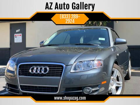 2008 Audi A4 for sale at AZ Auto Gallery in Mesa AZ