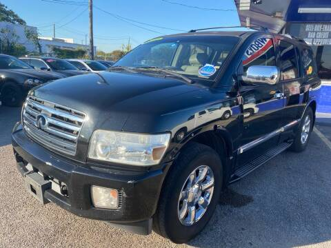 2006 Infiniti QX56 for sale at Cow Boys Auto Sales LLC in Garland TX