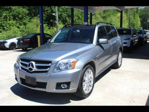 2012 Mercedes-Benz GLK for sale at Inline Auto Sales in Fuquay Varina NC