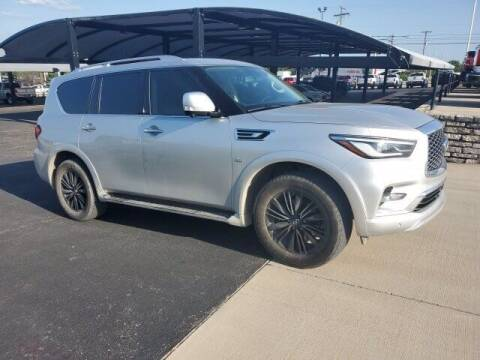2019 Infiniti QX80 for sale at Jerry's Buick GMC in Weatherford TX