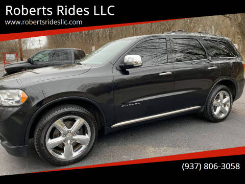 2012 Dodge Durango for sale at Roberts Rides LLC in Franklin OH