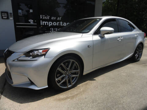 2016 Lexus IS 350 for sale at importacar in Madison NC