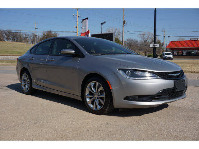 2015 Chrysler 200 for sale at Sand Springs Auto Source in Sand Springs OK