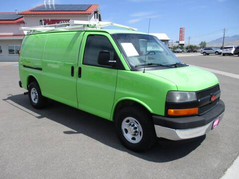 2012 Chevrolet Express Cargo for sale at West Motor Company in Hyde Park UT