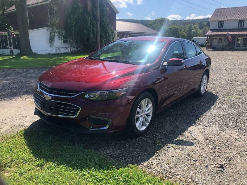 2016 Chevrolet Malibu for sale at Brush & Palette Auto in Candor NY