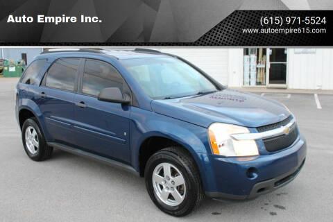 2009 Chevrolet Equinox for sale at Auto Empire Inc. in Murfreesboro TN