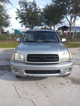 2002 Toyota Sequoia for sale at Track One Auto Sales in Orlando FL